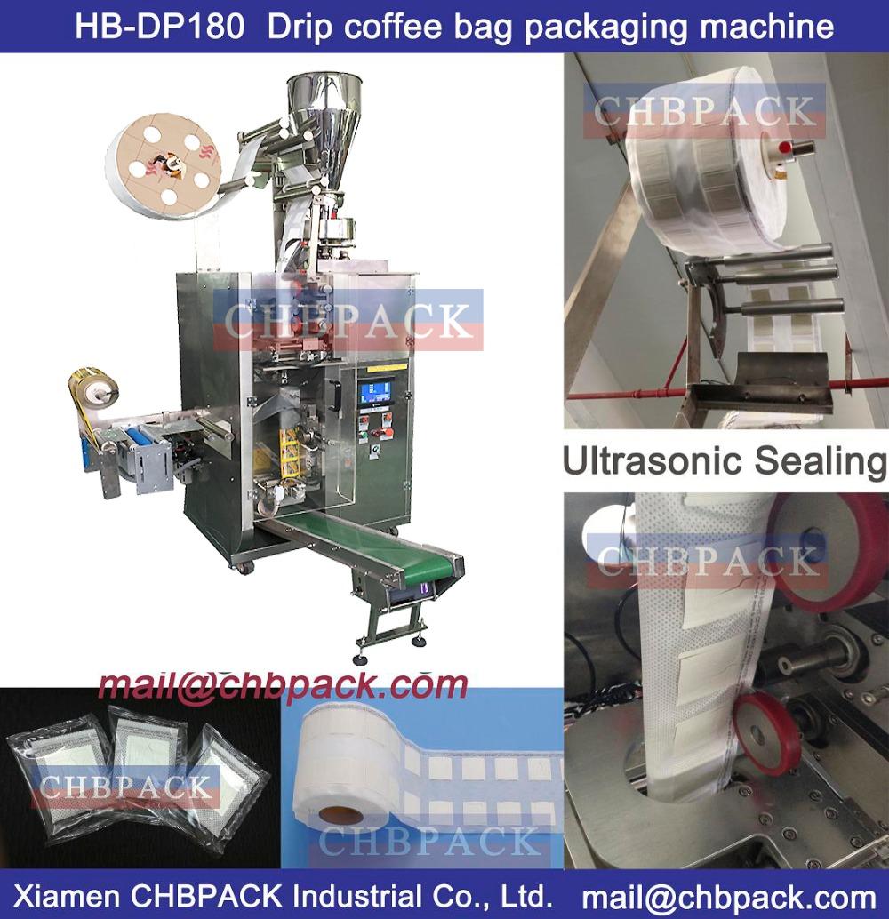 Drip coffee bag packing machine (coffee bag with hanger)(China (Mainland))