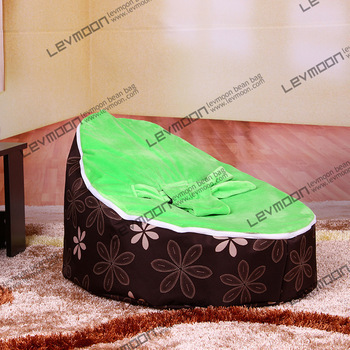 FREE SHIPPING baby seat with 2pcs green up cover baby bean bag chair softy kids bean bag seat baby bean bag bed<br><br>Aliexpress
