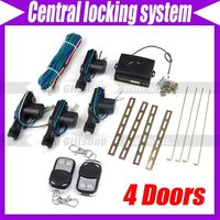 Car 4 Doors Remote Central Locking System #2372
