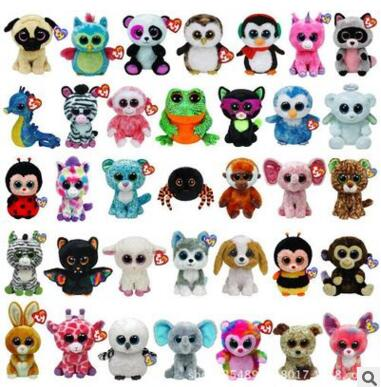 TY Beanie Boos Stuffed Plush Animals one piece about 15cm Soft Mini lovely troll doll hot toy toys for children china cheap toy(China (Mainland))