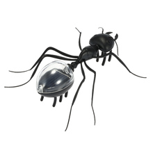 Energy-saving Cute Solar Ant Magic Solar Powered Ant Insect Solar Toys for Children Kids Toys Gift Black(China (Mainland))