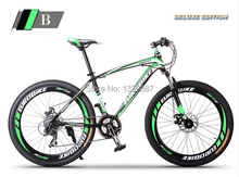 2015 New Green  Mountain Bike Bicycle 27 Gears Shiman0 Disc Brakes for Xmas Gift(China (Mainland))