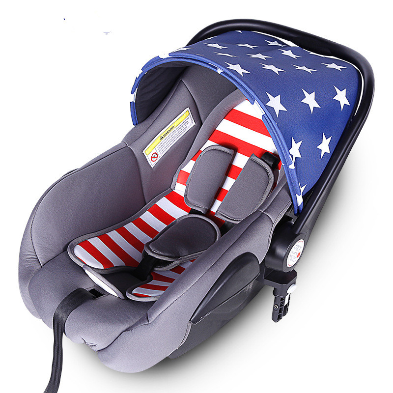 child car safety seats baby safety car basket portable adjustable fit for new born to 1 years. Black Bedroom Furniture Sets. Home Design Ideas