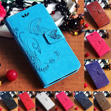 Sony Xperia M5 Dual E5603 E5606 E5653 E5633 E5643 E5663 Flip Stand PU leather Strap Phone Case Butterfly Wallet Bag Cover - BTL Group store