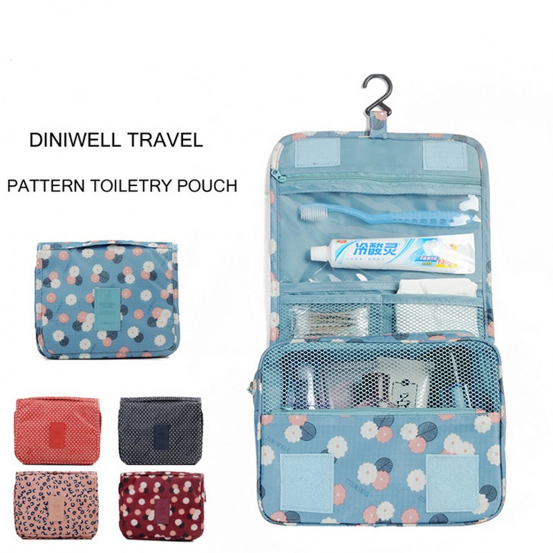 Гаджет  Hanging Toiletry Kit Clear Travel BAG Cosmetic Carry Case Toiletry Organizer For Traveling Bathroom None Камера и Сумки
