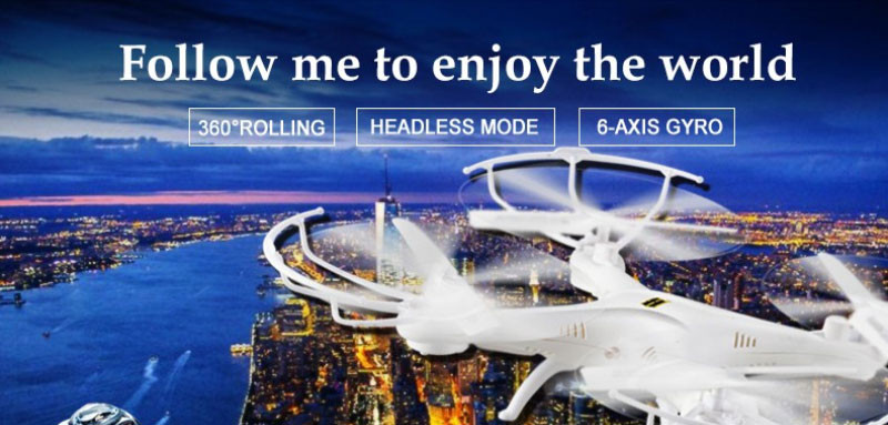2016 Hot sell large RC Drone with 2.0 MP Camera RC quadcopter Drones radio control aerocraft Headless mode and turn 360 degrees
