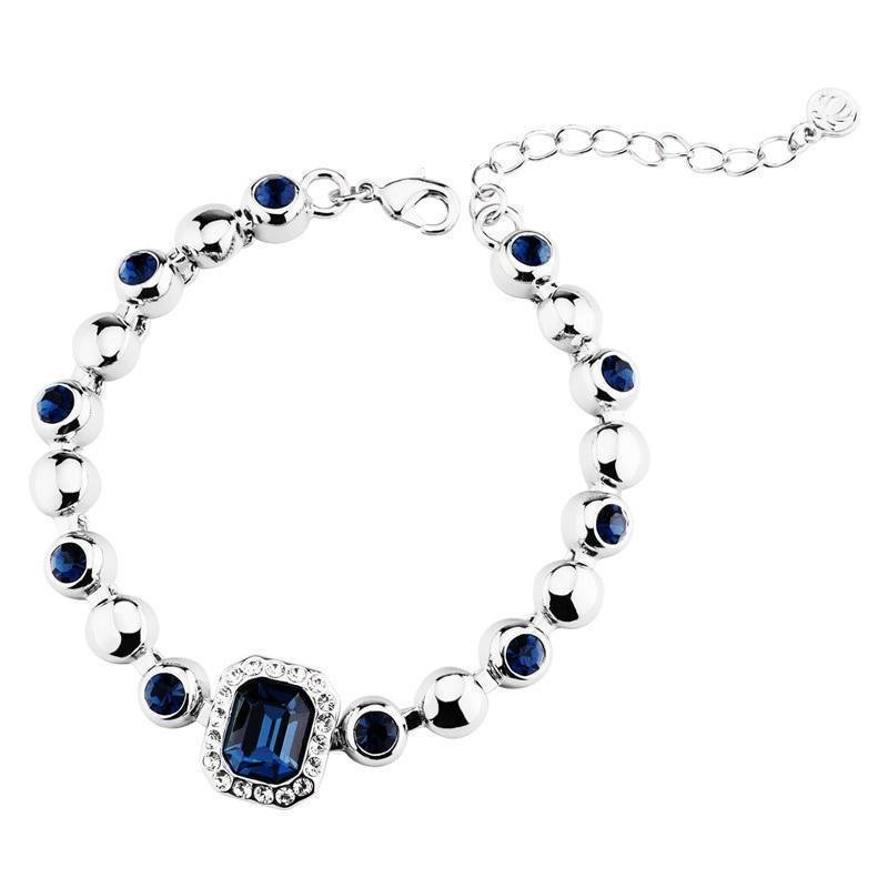 Woman gift item T400 brand Blue river Austria crystal bracelet,Montana,new 2013 for women,innovative items#3022,free shipping(China (Mainland))