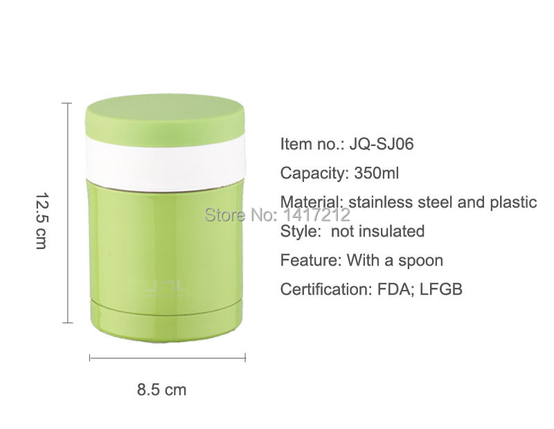 Hot sell 350ML Travel Bottle and Food Warmer / lunch Jar/soup pot(China (Mainland))