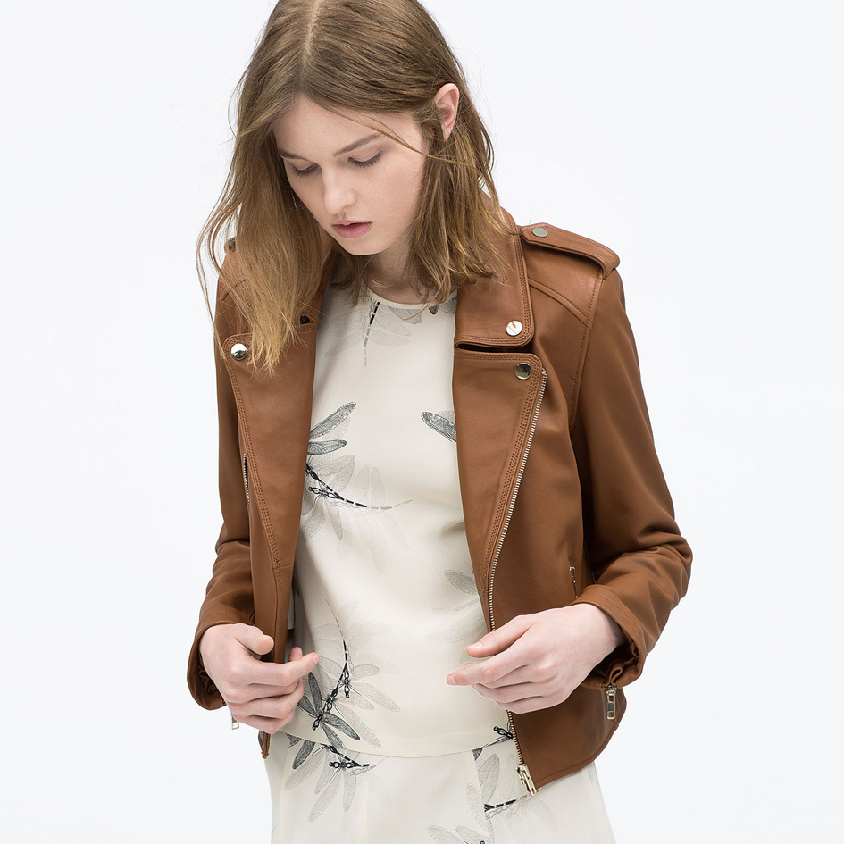 Leather Jacket Women Sale