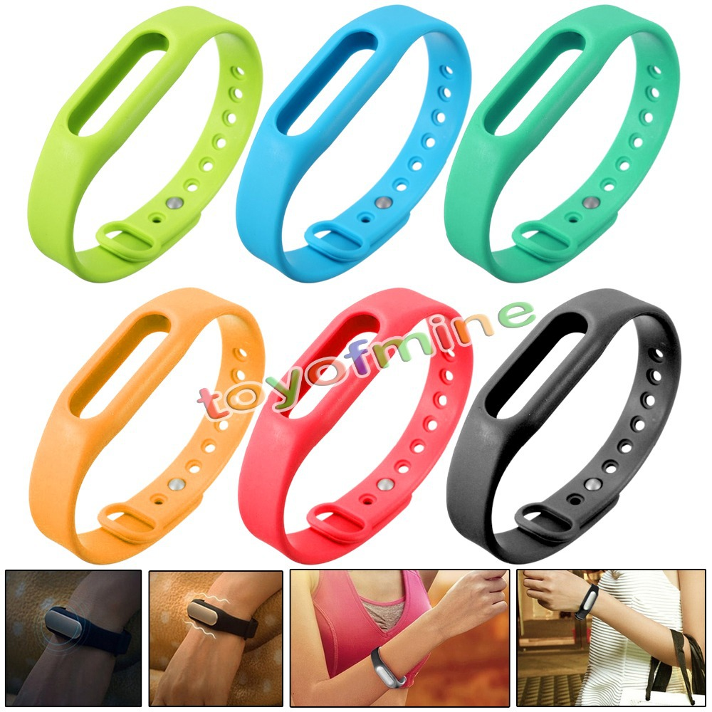 Xiaomi Miband Bracelet Replacement Wristband Strap Bracelet Silicone Wrist for Xiaomi(China (Mainland))