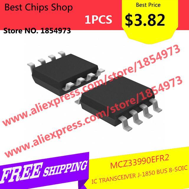 Free Shipping 1PCS=$3.82 Diy Kit Electronic Production MCZ33990EFR2 IC TRANSCEIVER J-1850 BUS 8-SOIC 33990 MCZ33990(China (Mainland))