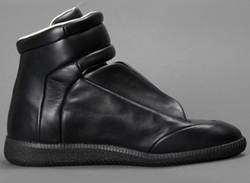 Fashionable genuine leather men shoes MaiSON MARGiela Brand male Outwear hip-hop Shoes retail - one +two+three store