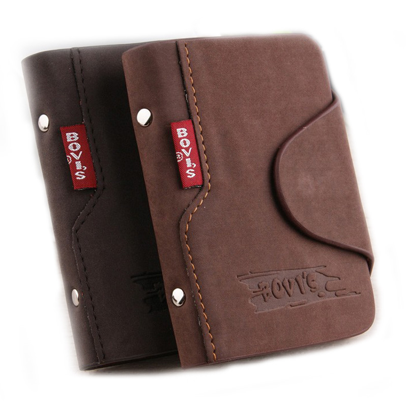 1pc Genuine Leather Business Cards Holder Credit Card Cover Bags Hasp Card Organizer Bags -- BIH003 PM49(China (Mainland))