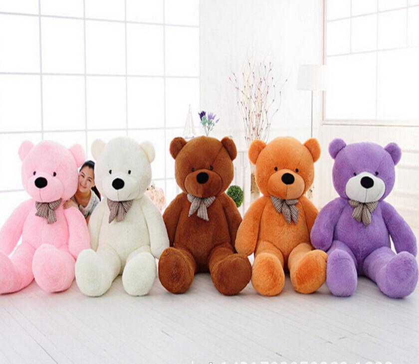 1pcs 39 100cm giant teddy bear plush toys stuffed teddy bear cheap pirce gifts for kids. Black Bedroom Furniture Sets. Home Design Ideas