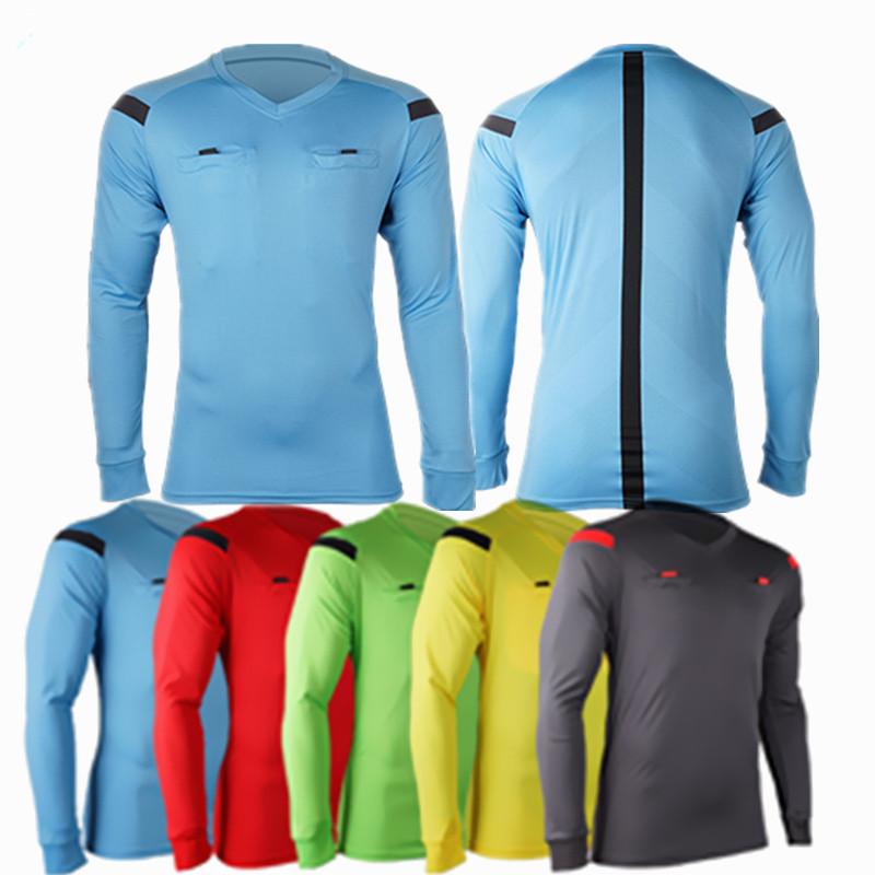 2017 New Professional Soccer Referee Uniforms Jersey Sets Judge Tracksuits clothing survetement Football Jerseys pants equipment(China (Mainland))