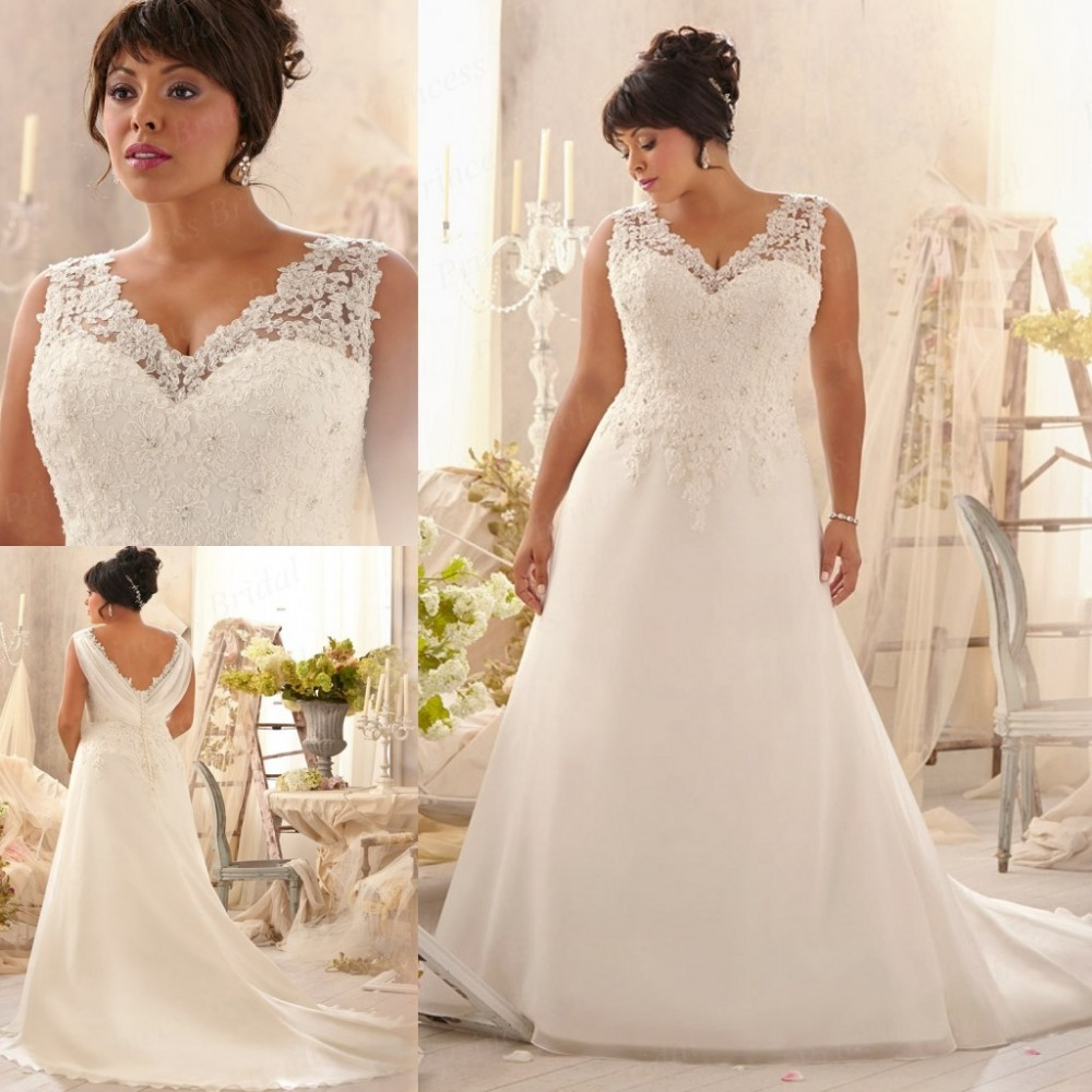 plus size wedding dresses free shipping
