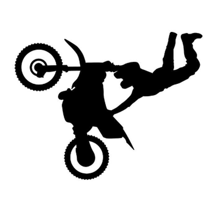 Fun Aufkleber Sport Motox Freestyle Motocross Bike Decal