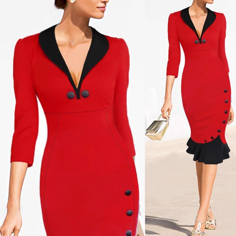 Женское платье Zanzea 2015 v/ol s/2xl Vestidos SKU221178 женское платье zanzea 2015 bodycon vestidos s xl sku229981
