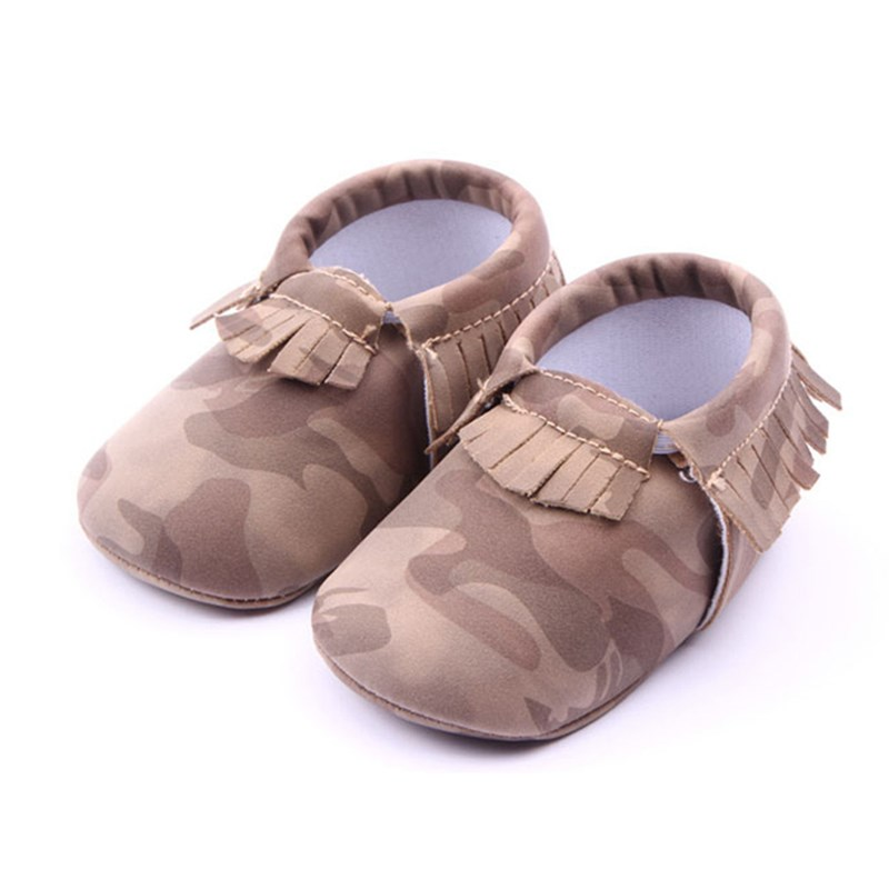 Camouflage Moccasin First Walkers Baby Shoes New Fashion Unisex Soft Sole Shoes Newborn Boys Girls Crib 0-18 Months Infant Shoe(China (Mainland))