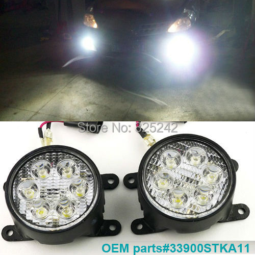 Excellent Ultra Bright LED Fog Light OEM Assembly For Ford Focus C - Acura ilx fog lights
