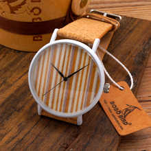 2015 Hot Selling Women's Men's Watches Fashion Stainless Steel Quartz Watch Natural Cork Band Brand reloj in Gif Boxt