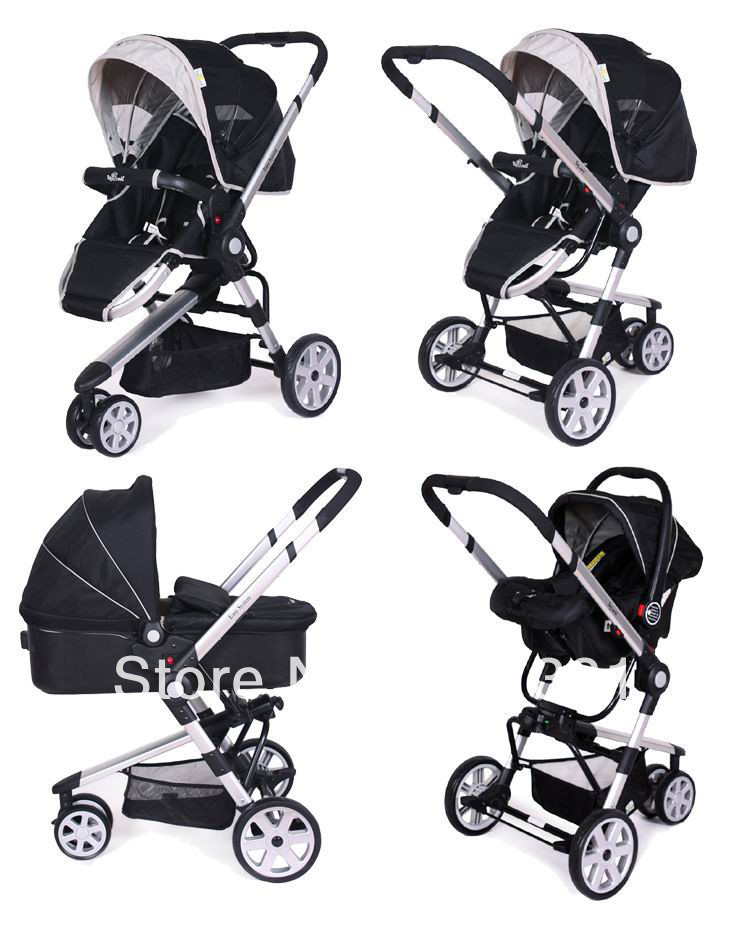 Double Car Seat Stroller Combo - Seat