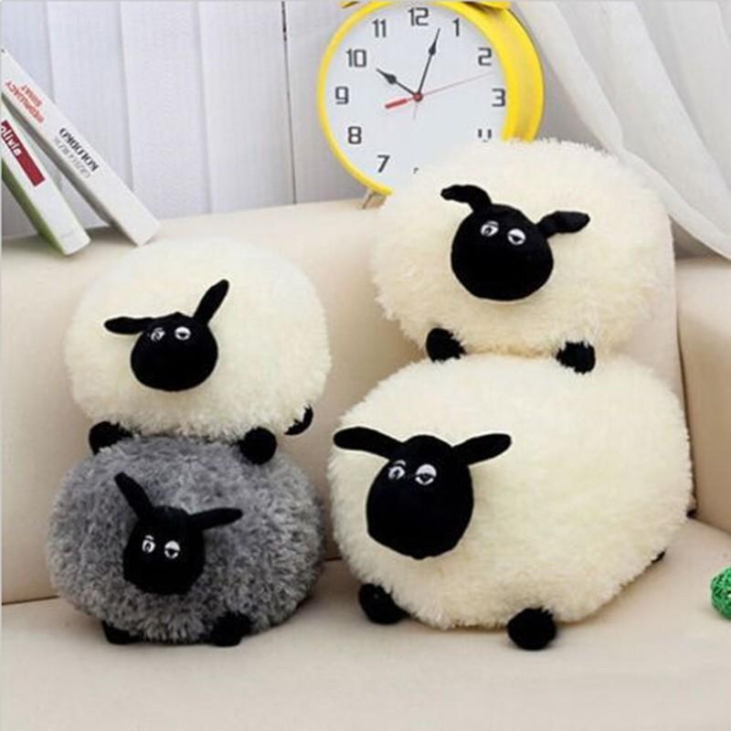30cm-60cm Shaun The Sheep Plush Toy Kawaii Kids Toys Birthday Party Brinquedos Decoration Best Gifts Hot(China (Mainland))