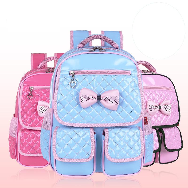 2015 Korean Primary students backpack School Bags for Girls Designer Brand Women Backpack Shoulder Bag Kids Backpacks Fashion