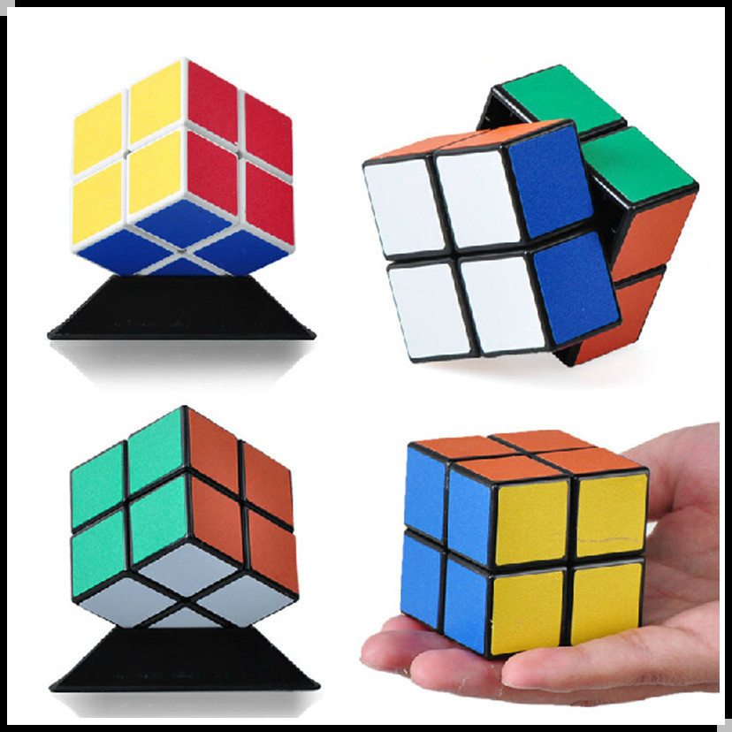 Magic Cube Professional 2x2 Neocube Matte Stickers Cubo Magico Puzzle Speed Classic Toys Learning Education P2(China (Mainland))