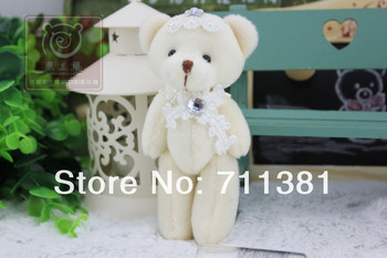 Free shipping high quality sitting cute lovely plush teddy bear toys in bulk best price kids toy bridthday gift