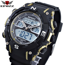 Brand EPOZZ Men Swimming Digital Sport Waterproof Watch 2801