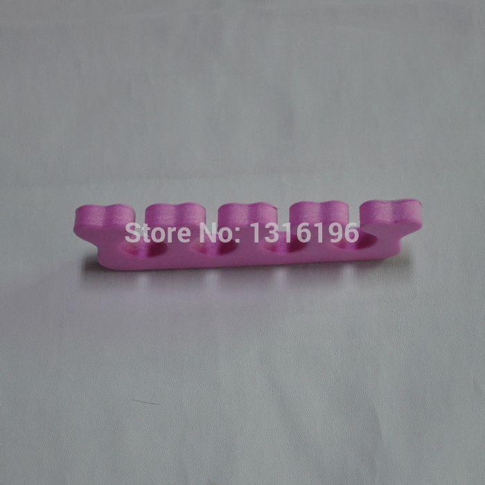 2Pcs/lot Nail Art Finger Soft Foam Toe Separator Manicure Salon Tools(China (Mainland))