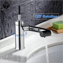 Buy YANKSMART Bathroom Solid Brass Kitchen Sink Tap & 720 Degree Swivel Kitchen Faucet Vessel Sink Water Tap Bathroom Faucets Mixer for $44.16 in AliExpress store
