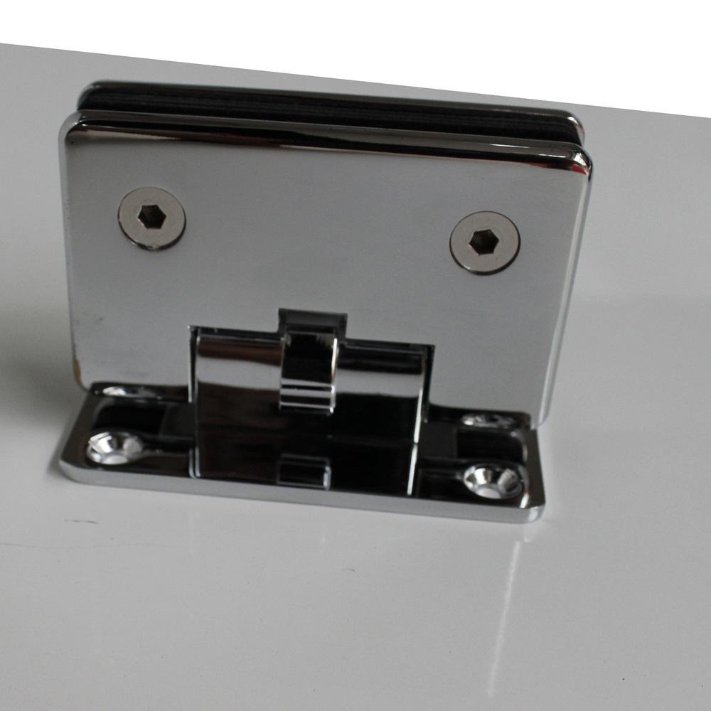 Zinc alloy kitchen bathroom clip 90 degrees shower glass doors<br><br>Aliexpress