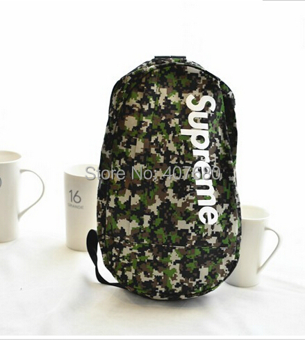 Harajuku mochila kippling backpack men/women's camouflage army green outdoors canvas gym casual school bag feminina - Cool Pants store