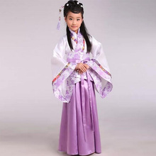 traditional ancient chinese costume for costume hanfu child girls clothing kid girls cosplay dresses dance Tang Dynasty costumes(China (Mainland))