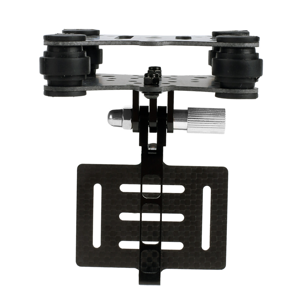 New Arrival Universal FPV 4-Axis Gimbal Part Carbon Fiber Shock Absorber Gimbal PTZ for DJI Phantom Gopro 3 FPV Quadcopter