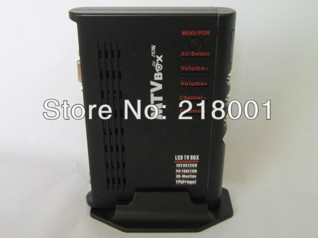 LCD TV BOX HDTV receive analog signals CRT LCD TV Top Set Box Digital Computer VGA TV Programs Tuner Receiver Dongle Monitor(China (Mainland))