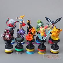 Free Shipping Anime Cartoon Pokemon Pikachu PVC Action Figure Collection Model Toys Dolls Classic Toys 10pcs/set PKFG228