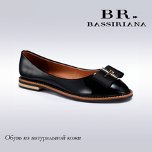 BASSIRIANA 2017 Shoes Woman Genuine Leather Flats Ladies Shoes High Quality Shoes For Women Top Casual Work Loafers Shoes(China (Mainland))