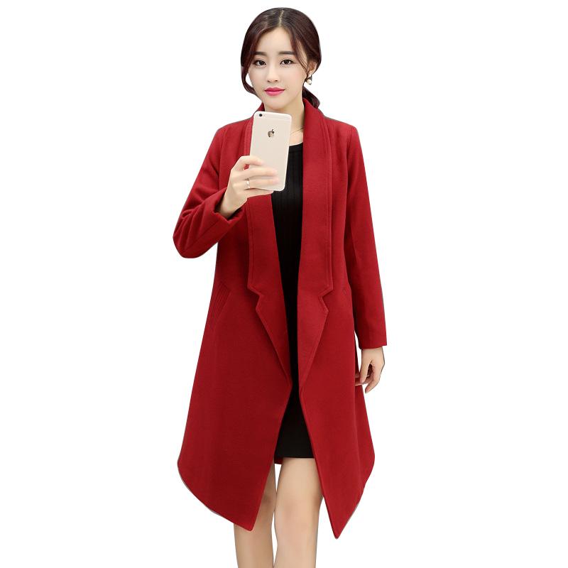 Hot Sale Autumn Spring New Women Elegant Slim Long Trench Coat For Women Plus Size Women Trench Coat Gabardinas Trench CT136