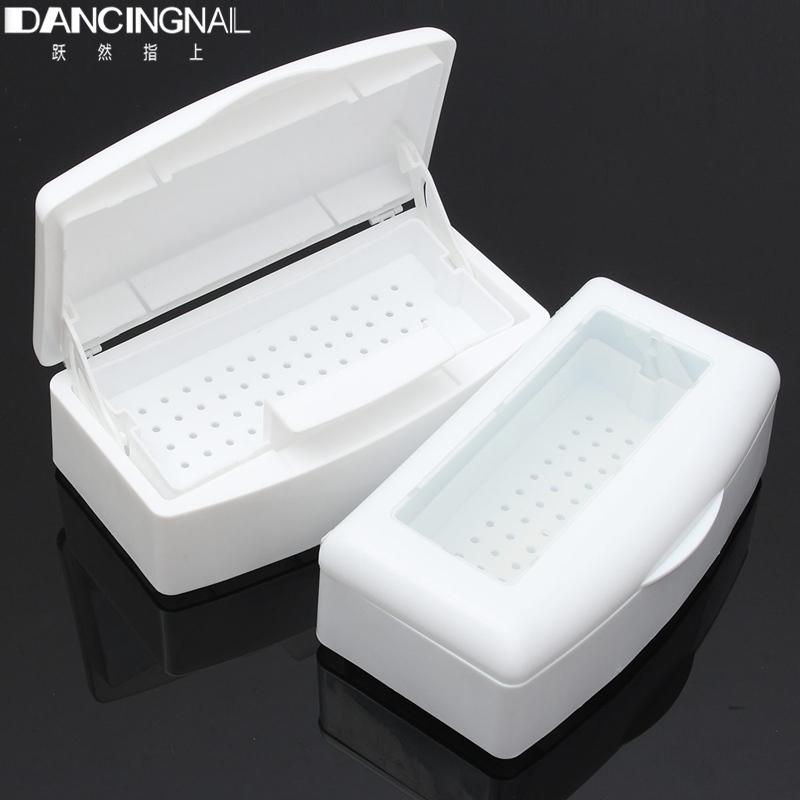 Pro Nail Art Imported Resin Sterilizer Tray Disinfection Box Salon Beauty Manicure Tool Sterilizing Tray<br><br>Aliexpress