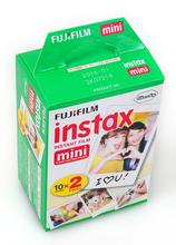 New for Fujifilm Instax Mini Film 20 sheets Plain Edge Instant Photo for Camera Mini 7s 8 25 50s 90