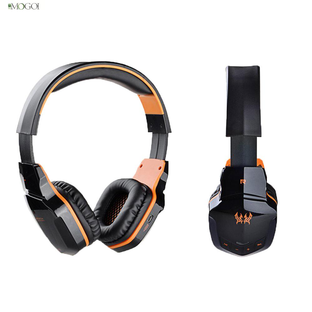KOTION EACH B3505 Wireless Bluetooth Gaming Headset NFC HiFi Stereo 4.1 Game Headphones With Mic For Phone PC Tablet(China (Mainland))