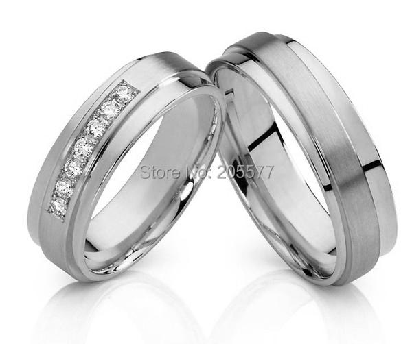 matching wedding rings silver