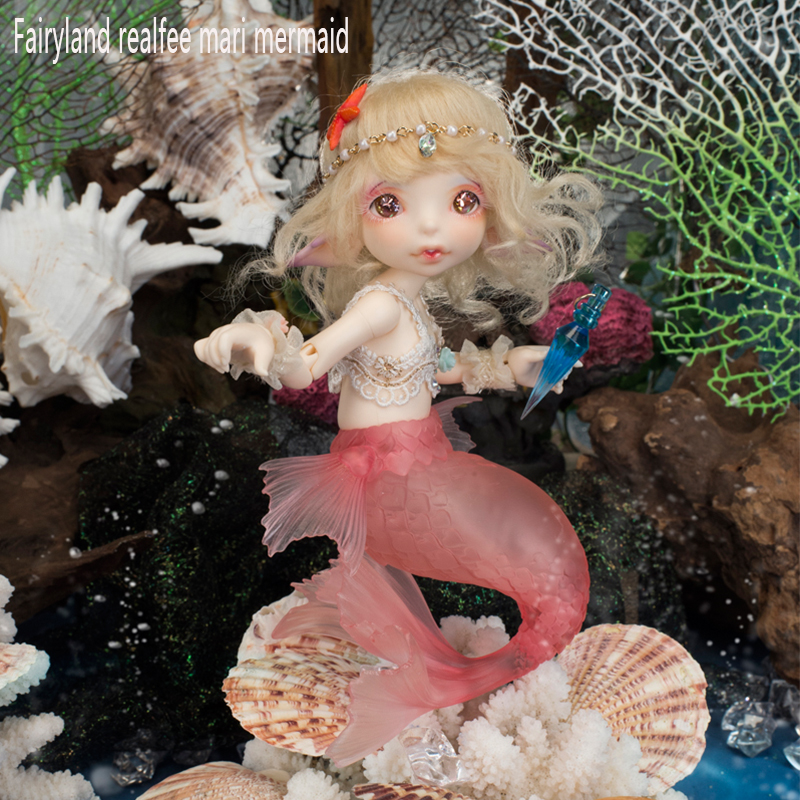 fairyland realfee mari mermaid bjd resin figures luts yosd volks doll not for sales bb toy gift iplehouse popal dollchateau fl(China (Mainland))