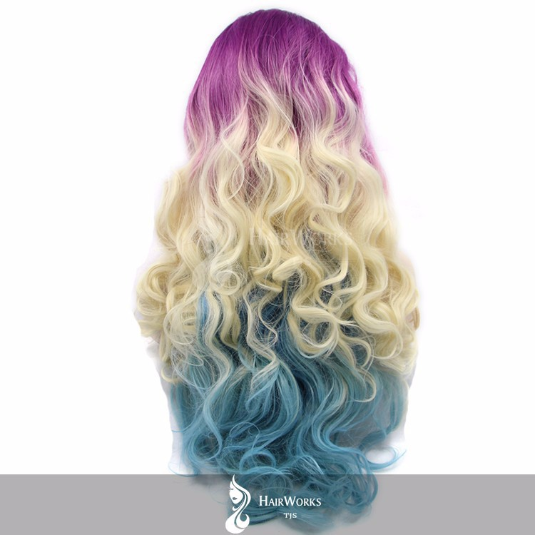 Tom HairWorks 3 tone 22 Inch BW Synthetic wigs1