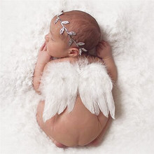 Newborn Photography Props Baby Newborn Photography Costume Cute Wings Angle Props Accessoire Photographie Baby(China (Mainland))