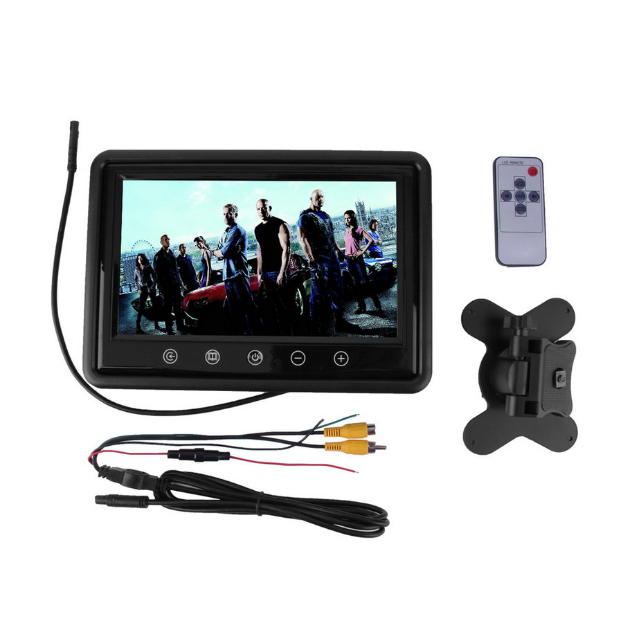 9 inch Touchscreen LCD Car Monitor Computer HD Digital TFT Color Monitors VGA/AV Support as Computer Screen hot selling(China (Mainland))