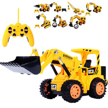 1:10 Large diggers,Engineering excavator vehicles,6 Channels Wireless remote control vehicle,Electric cars toys,free shipping(China (Mainland))